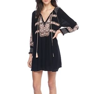 Free People wind willow embroidery dress large